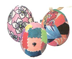 Лоскутные яйца