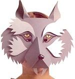 Как сделать уши волка своими руками из картона