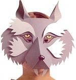 Хвост волка своими руками